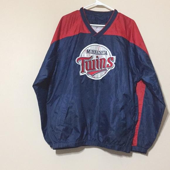 the best attitude cb3ee d28f4 Minnesota Twins pullover jacket